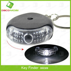 Key chain LED whistle key finder with sound control