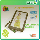 10.2 inch Android 4.0 WIFI HDMI Tablet PC Capacitive touch screen