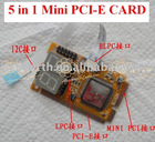 2010-2011 Mini PCI-E 5 in 1 diagnose card/Mini PCI-E 5 in 1 test card