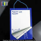 Pretty colorful magnetic dry erasable writing board with magnetic pen