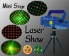 650nm/100mW Mini Sound Laser Stage Light