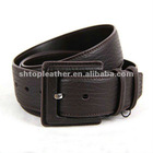 2012 New Design Men's Cow Grain Leather Belt