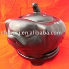 Hand made porcelain pig shape stock pot