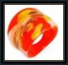 fashion glass ring