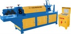 Hydraulic double traction steel straightening and cutting machine
