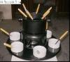Big chocolate Fondue set