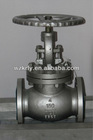 Stainless Steel Flanged Globe Valve Manual Control