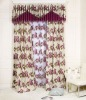 Modern style printed curtain