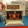 Take-up machine for semi-automatic change bobbin