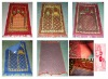 70*110cm yiwu keqiao small size stitch carpet muslim prayer mat rug
