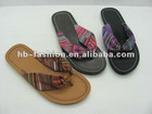 summer low heel sandals 2012 ladies' fashion flip flops summer slippers