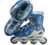 2013 retractable inline skate shoe for kids 103A BLUE