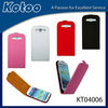 PU leather case for samsung galaxy 3