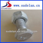 Fasteners grade8.8 Dacron special hex bolt with nut