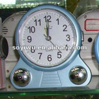 Clock wholesale at yiwu market with alarm clock with business card holder #447318
