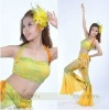 New style belly dance 2 pcs set top+pants 8234273316
