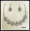 wedding necklace set F13936