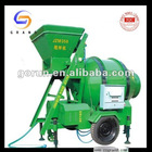 2012Hot sale high quality mobile concrete mixer/blender machine86-0371-63908568