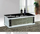 MDF white coffee table C3012