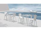 Fashion Outdoor Rattan Furniture/Rattan Bar Set LG61-9411&9431