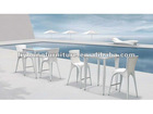 Fashion Outdoor Rattan Furniture/Rattan Bar Set LG61-9411&9431