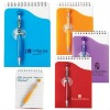 "Promotional Gift Set - Happy Face Custom Imprinted Pen & Memo Pad - 3""x5"""
