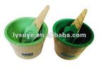 Plastic Ice Cream Bowl And Spoon Set