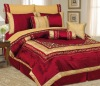 Chameleon Embroidered Patchwork Comforter Set (bedding set)