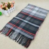 New Pattern of Babery Check Twill Hot sale scarf with tassel