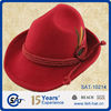 Wholesale bucket hat for man, Casual wool Felt Bucket Hats with Straw band