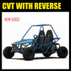 CVT BUGGY WITH REVERSE 150CC