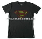 Mens Vintage Superman Shield T-Shirt