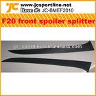 F20 E87 carbon fiber spoiler front splliter for BMW