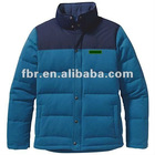men's latest fashion outdoor grey goose down filled ski jacket