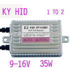 HY High Efficiency E2 HID Lighting ballast TWO IN ONE 35W