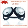 Wholesale mp3 ipx7mp3 player VO-5801 fm radio waterproof mp3 swimming waterproof fm radio mp3