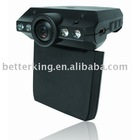 "H-185C Night Vision Vehicle Video Recorder 2.5"" TFT LCD Car Camera"