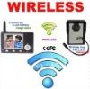 3.5 inch lcd wireless color 2.4Ghz video intercom door phone