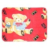 Hooded baby fleece blanket