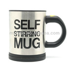 Stainless Stell Self Stirring Mug/coffee mug