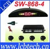SW-868-4 Car LED Display 4 Parking Sensor Reverse backup Radar (black silver red blue gold grey white for choice)
