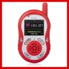 Red interphone Walkie Talkie MP4 PLAYER GW-IP006