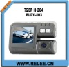 "HOT! Sperated HD Dual 2 camera car DVR with 2.0"" screen (RLDV-803)"