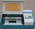 Laser stamp engraver machine