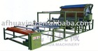 Double-glue groove vertical net belt laminating machine