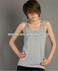 fashion tank top for women with lace on back