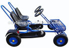 Fashion family pedal go kart, four wheel surrey bike with CE F2150