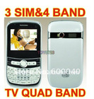 Cheape 3 SIM TV Mobile Phone F3