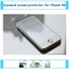 2012 top sale diamond screen protector for blackberry 9900