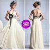Famous Design Good Exquisite Stunning Chiffon Trendy Fairy Sheath Free Shipping Evening Prom Dress